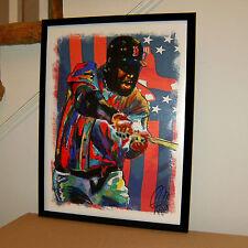 David Ortiz, Big Papi, Boston Red Sox, First Base, All Star, 18x24 POSTER w/COA2