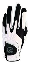 2016 Zero Friction One Size Fits All Compression Fit Mens Golf Glove White