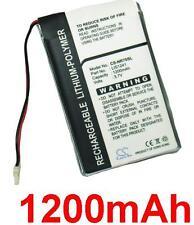 Batería 1200mAh Sony Clie PEG-NX80V, PEG-SJ33, PEG-TG50, PEG-TH55, LISI241