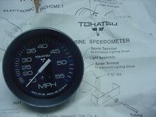 New OEM Tohatsu Speedometer Gauge NOS  353-72522-1