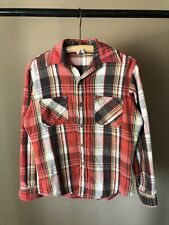 New listing Vintage Big Mac Jc Penney Multi Color Flannel Casual Shirt, Sz S