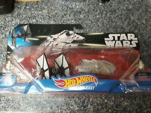 Hot Wheels Mattel Star Wars Die-cast Ship 2pack Flight Navigator Toy Display