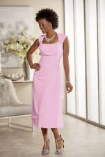 plus size 16W Pink Formal Beaded Tionne Dress by Ashro new