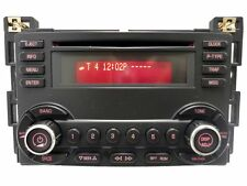 Pontiac G6 G-6 Radio Stereo CD Disc Player 15890524 UN0 Receiver AM FM OEM