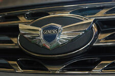 Front Hood Chrome Wing Emblem 1p For 2010-2012 Hyundai Genesis Coupe
