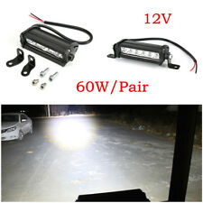 2Pcs 30W LED Work Light Bar Spot Beam Car Truck Off-Road Driving Light DC 12V