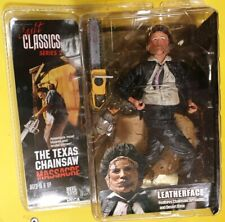 TEXAS CHAINSAW MASSACRE LEATHERFACE CULT CLASSIC MONSTER HORROR figure NECA REEL