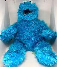 "Sesame Place Sesame Street Cookie Monster Plush Stuffed Animal Shaggy 15"""