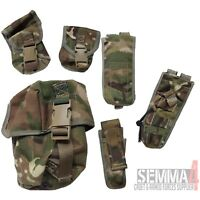 Tactical Military Army Cadet Airsoft MOLLE Pouch Various Pouches MTP Multicam