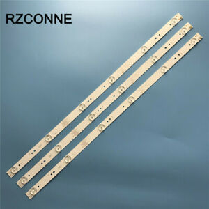 3pcs LED strip for ATVIO 32'' TV 0D32D06-ZC21FG-05 6S1P 303TT320038 ATV-32 3V