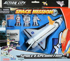 Shuttle 7-piece play set & Kennedy Space Center Shuttle with name stickers