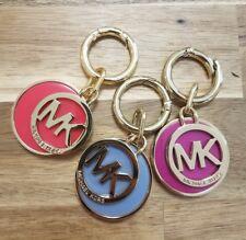 MK Michael Kors Gold Tone  Purse Charm Keychain Keyfob Random Color