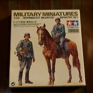 Tamiya Wehrmacht Infantry Troops Soldiers Plastic Model Military Figure Kit