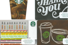 Starbucks UK  NEW code 6136 - 4 different
