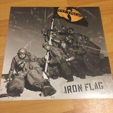 "WU-TANG CLAN Iron flag 12"" Promo POSTER Rap Hip Hop RZA GZA GHOSTFACE KILLAH"