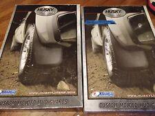 4 Husky Liners Custom Front Wheel Mud Guard Flaps Part # 56801 & Rear 57801