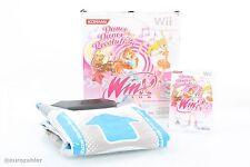 Konami Winx Club - Dance Dance Revolution DVD Bundle - Nintendo Wii Spiel Gam...