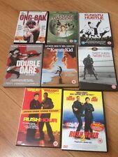 DVD Fight Movie Bundle Kung Fu Karate Boxing