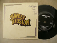 SWEET ILLUSION EP SELF TITLED I CAN SEE CLEARLY pennine 142...... 45rpm folk