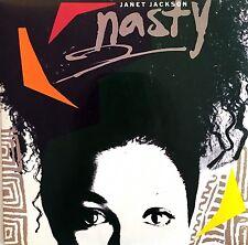 "Janet Jackson 7"" Nasty - France (EX/EX)"