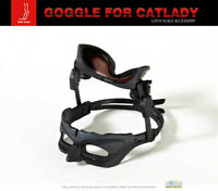 """TOW-FACE 1/6 Catwoman Goggles Glasses Model Black for 12"""" Female Figure TF001"""