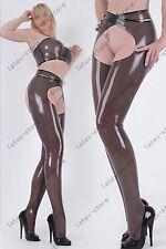554 Latex Rubber Gummi outfits Bra set pants legginngs trousers customized 0.4mm