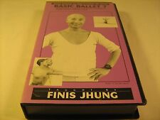 Rare VHS Tape BASIC BALLET 7 Finis Jhung [Z16b]