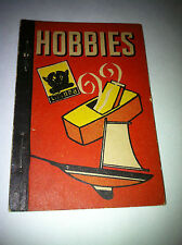 1938 HOBBIES HOBBY BOOK ICE CREAM LID WHITMAN BIG LITTLE PENNY BOOK PREMIUM