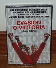 EVASIÓN O VICTORIA ESCAPE TO VICTORY DVD NUEVO PRECINTADO BELICO (SIN ABRIR) R2