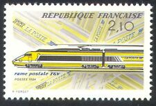 France 1984 Trains/Rail/Transport/TGV/Mail Train 1v (n25161)