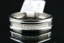 MENS 5 MM UNIQUE WEDDING BAND DIAMOND RING .22 CT