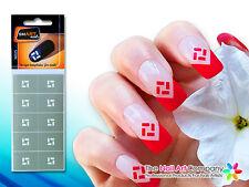 SmART-Nails - Square Nail Art Stencils N025 Professional Nail Product