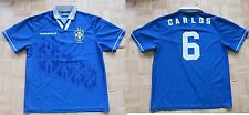 Roberto CARLOS #6 BRASIL /BRAZIL away shirt jersey UMBRO 1994-1997 adult SIZE L