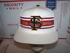 Florida State. Seminoles  HAT/CAP- FITTED  7 1/4 AMERICAN NEEDLE   -NCAA-WHITE