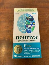Neuriva Brain Performance Plus Memory Focus Supplement, 30 Capsules Exp 02/2021