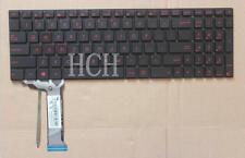 For ASUS N551 N551J N551JB N551JK N551JM N551JQ backlit English laptop keyboard