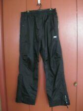 Mens Black Waterproof Pants Sz Xl