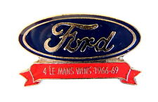AUTO Pin / Pins - FORD LE MANS WINS 1966 - 69 [1135]