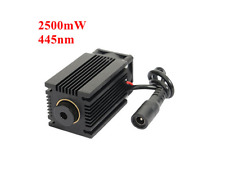 445nm 2500mW Blue Laser Module With Heatsink For DIY Laser Engraver cutter 5w