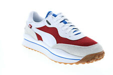 Puma Style Rider Warm Texture 37338202 White Mesh Lifestyle Sneakers Shoes