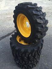 4 10 165 Hd Skid Steer Tires Camso Sks532 10x165 John Deere 6 Lug 4475 5575