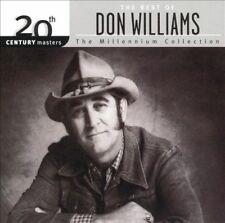 20th Century Masters - The Millennium Collection: The Best of Don Williams, Vol. 1 by Don Williams (CD, May-2000, MCA Nashville)