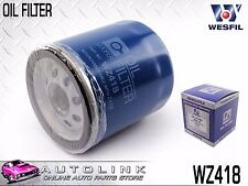 WESFIL OIL FILTER SUIT HOLDEN TORANA LC LH LJ TA 1.6L 1.8L 4CYL 11/1969-11/1974