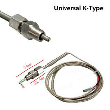 Universal K-Type EGT Thermocouple Temperature Sensors For Car Exhaust Gas Probe