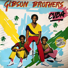 GIBSON BROTHERS - CUBA (LP) (G-/VG-)