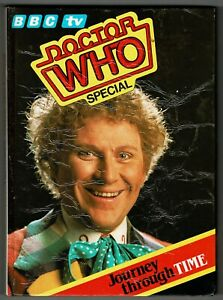 Dr, Who Journey Through Time 1986 special book annual Colin Baker era DALEKS