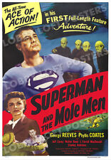 SUPERMAN AND THE MOLE MEN LOBBY CARD POSTER OS 1951 GEORGE REEVES CLARK KENT