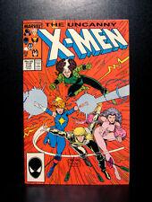 COMICS: Marvel: Uncanny X-Men #218 (1987), 1st Marc Silvestri title art - RARE