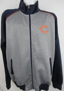 Chicago Bears Men's Large Full Zip Embroidered Track Jacket ABEA 181