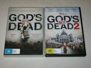 God's Not Dead + God's Not Dead 2 - VGC - Region 4 - DVD